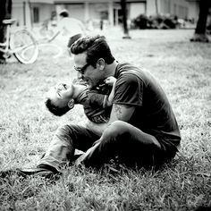 Seriously is there anything more beautiful than a good father? Especially, of course, Jeffery Dean Morgan <3
