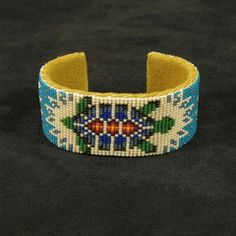 Turquoise Beaded Turtle Bracelet