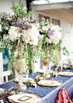 Today we& bringing you a new round-up of stunning wedding centerpiece ideas. This curated collection has so many pretty and creative florals. I& sure you will meet the one that complements your wedding theme to perfection. Romantic Wedding Centerpieces, Wedding Reception Flowers, Reception Decorations, Table Decorations, Centerpiece Ideas, Centrepieces, Wedding Ideas, Romantic Weddings, Reception Ideas