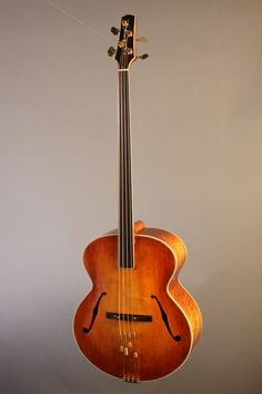 Alexandr Svistunof #LardysChordophoneOfTheDay #Bass ~ https://www.pinterest.com/lardyfatboy/lardys-other-fretted-chordophones-of-the-day/ ~