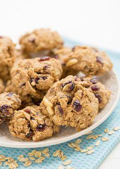 Cranberry Almond Cookies #cookies #healthy #protein #greatist