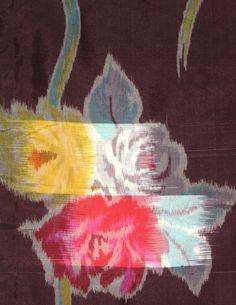 Vintage Meisen Ikat | Silk