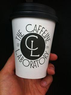 simply awesome caffeine laboratory logo