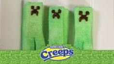 Creeps!! Perfect for Easter baskets for you Minecraft players. Learn how to make them!
