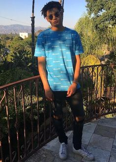 Zion Kuwonu in a picture uploaded to his Instagram account in June 2017...