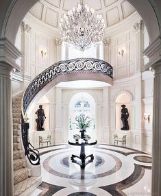 of course we'll have elegant and vast staircase-grand yet warm and welcoming feeling to our home.