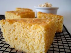 is the best cornbread I have made.with the exception of naughty cornbread, but that is made with cake mix, so c'mon.This is the best cornbread I have made.with the exception of naughty cornbread, but that is made with cake mix, so c'mon. Best Cornbread Recipe, Moist Cornbread, Homemade Cornbread, Sweet Cornbread, Cornbread Muffins, Fall Recipes, Great Recipes, Favorite Recipes, Yummy Recipes