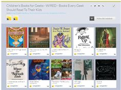 The motherlode list of children's books for geeks