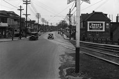 Toronto Neighbourhoods, Toronto Photos, Big Building, Street Names, West End, Historical Society, Amusement Park, Back In The Day, Main Street