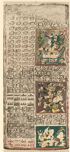 Le codex de Dresde (ou Codex Dresdensis) est un manuscrit maya de la région de Chichén Itzá (XIIe-XVe siècle). Il est composé de 39 feuillets de papier végétal « amate » plié en accordéon. Chaque feuillet à des dimensions de 9 centimètres par 20,5, pour une longueur totale de 3,56 mètres. Il est peint des deux côtés, sauf quatre feuilles qui sont demeurées vierges1. Il est actuellement à la Sächsische Landesbibliothek de Dresde.
