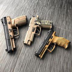 FN Five-seveN x SIG P226 x HK VP9