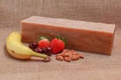 Banana Berry Almond Soap Loaf Makes 10 5oz Bars of Soap | eBay