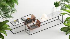Behave | Perforé Side Table | Yunus Emre Uzun