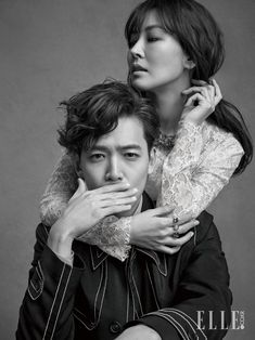 YOON HYUN MIN and KIM SO YEON