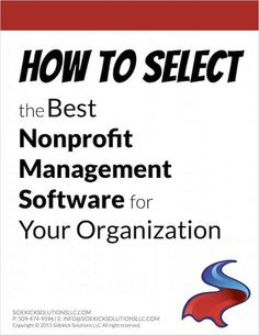 Looking for New Nonprofit Database Software?  Start Here!
