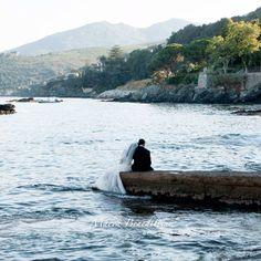 Photographie mariage couple , Corse