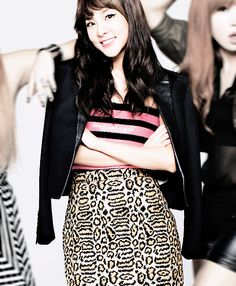 For you We miss you and all the girls dearly Kpop Girl Groups, Kpop Girls, Sandara Park, 2ne1, Sequin Skirt, Asia, Mini Skirts, Fashion Outfits, Style