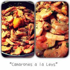 Mis camarones... ♥ loveeee. Comer rico