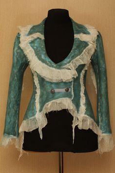 Arabella / NunoFilz Bekleidung / Jacke von LybaV auf Etsy, $500.00