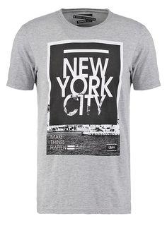 Camiseta básica - grey - Zalando.es