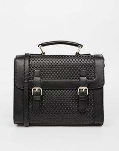 Enlarge ASOS Heart Punchout Satchel Bag