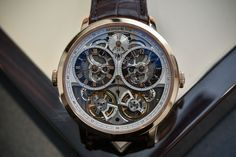 Hands-On – Arnold & Son DBG Skeleton Dual-Time – With (Almost) Two Movements in One Watch