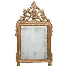 18th Century Provençal Mirror | From a unique collection of antique and modern trumeau mirrors at https://www.1stdibs.com/furniture/mirrors/trumeau-mirrors/