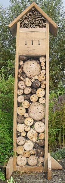 insect hotel all of us can do this, e.g. with kids
