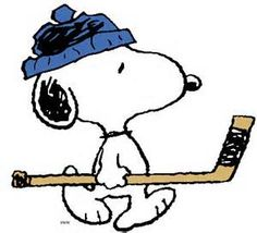 Hockey Snoopy