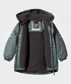 Mikk-Line Winter Jacket Pastel Blue Pastel Blue - 3
