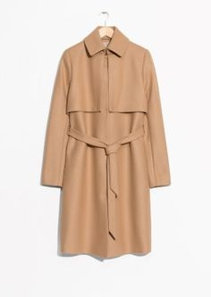 & Other Stories | Wool Trenchcoat