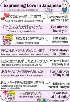 Japanese is a language spoken by more than 120 million people worldwide in countries including Japan, Brazil, Guam, Taiwan, and on the American island of Hawaii. Japanese is a language comprised of characters completely different from Basic Japanese Words, Japanese Phrases, Study Japanese, Japanese Love, Japanese Kanji, Japanese Culture, Learning Japanese, Learning Italian, Japanese Things