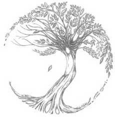 Tree of Life Tattoo design  no sun or moon by TattooMagic on Etsy