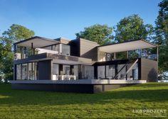 Projekty domów LK Projekt LK&1320 zdjęcie 2