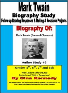 mark twain biography 2 essay Mark twain biography of mark twain and a searchable collection of works  posted by peterrivington in twain, mark || 2 replies  , possibly including full books or essays about mark twain written by other authors featured on this site my mark twain by wd howells.