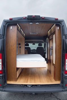 30 Amazing Image of Minivan Camper Conversions To Inspire Your Build & Adventure. After you have decided which motorhome or caravan you wish to utilize for your holidays, it's ideal to request a reservation. Though the motorhome isn. Cargo Van Conversion, Van Conversion Interior, Sprinter Van Conversion, Camper Van Conversion Diy, Diy Van Camper, Tiny Camper, Campervan Bed, Campervan Interior, Camping Diy