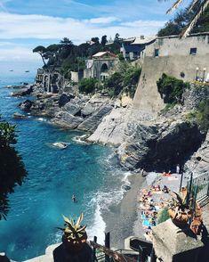 Bogliasco beach, Liguria Italy