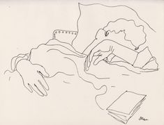 25 dessins d'un dormeur, Jean Cocteau, 1929