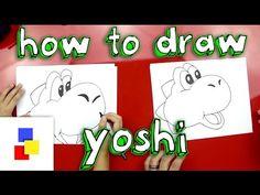 How To Draw Yoshi - Art for Kids Hub