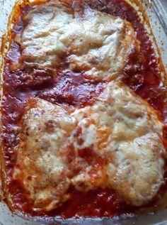 Pui cu parmezan si mozzarela - Pui Parmigiana | Diva in bucatarie Fajitas, Mozzarella, Lasagna, Spaghetti, Ice Cream, Ethnic Recipes, Food, Lasagne, No Churn Ice Cream