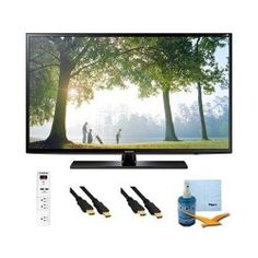 UN46H6203 – 46-Inch 120hz Full HD 1080p Smart TV Plus Hook-Up Bundle. Bundle Includes TV, 3 Outlet Surge protector with 2 USB Ports, 2 -6 ft High Speed 3D Ready 1080p HDMI Cable, Performance TV/LCD Screen Cleaning Kit, and Cleaning Cloth.