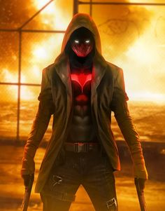 arkham knight red hood wallpaper - Google Search