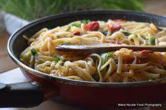 Caesar Pasta Salads, Caesar Salad, I Want To Eat, Barbecue, Paste, Spaghetti, Favorite Recipes, Lunch, Parenting