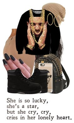 """Going to school draking;"" by aurialexander on Polyvore featuring MCM, Casetify, Phase 3, Timberland, Coach and Ippolita"
