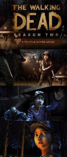 The Waking Dead Season 2 videogame finds Clementine in danger from both zombies and surviving humans! The Walking Dead Telltale, Walking Dead Tv Series, The Walking Dead Tv, Walking Dead Season, Zombie Video Games, Mmorpg Games, Bubble Games, First Video Game, Playstation Games