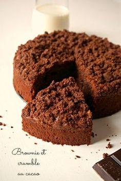 brownie aux pépites de chocolat