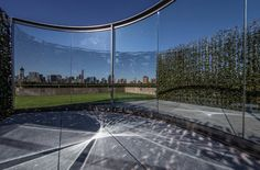 """""""Hedge Two-Way Mirror Walkabout,"""" on the roof deck of the Metropolitan Museum of Art"""
