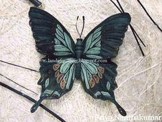 Green butterfly | The Art of Quilling