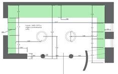 Projekt NAVY - granatowa, elegancka kuchnia w klasycznym stylu Kitchenaid, Kitchen Design, Floor Plans, House, Dream Kitchens, Navy Blue, Design Of Kitchen, Home, Homes