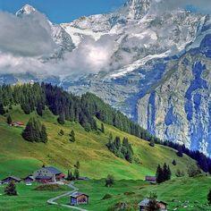 Farm, Swiss Alps                                                                                                                                                      More